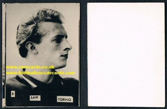 1961 Denis Law 8 Galli Torino